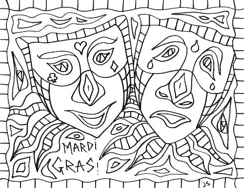 500x386 Mardi Gras Coloring Pages Free Coloring Pages Free Mardi Gras