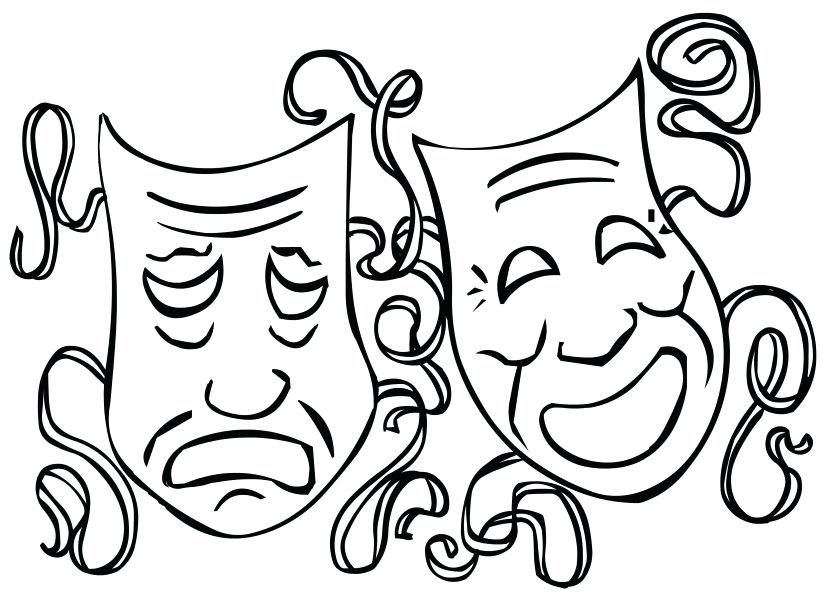 827x609 Mardi Gras Masks Coloring Pages Festival Of Mardi Gras Masks