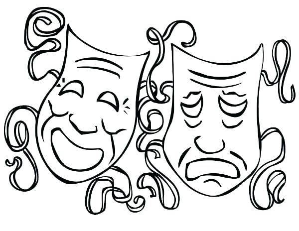 600x464 Mardi Gras Masks Coloring Pages Masks Coloring Pages Coloring