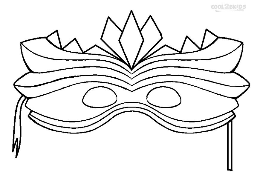 850x576 Printable Mardi Gras Coloring Pages For Kids