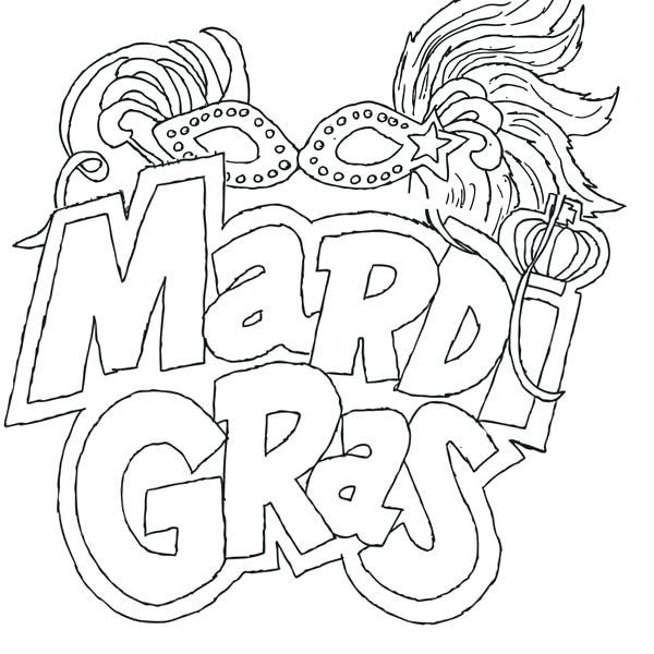 Mardi Gras Parade Coloring Pages at GetDrawings.com | Free ...