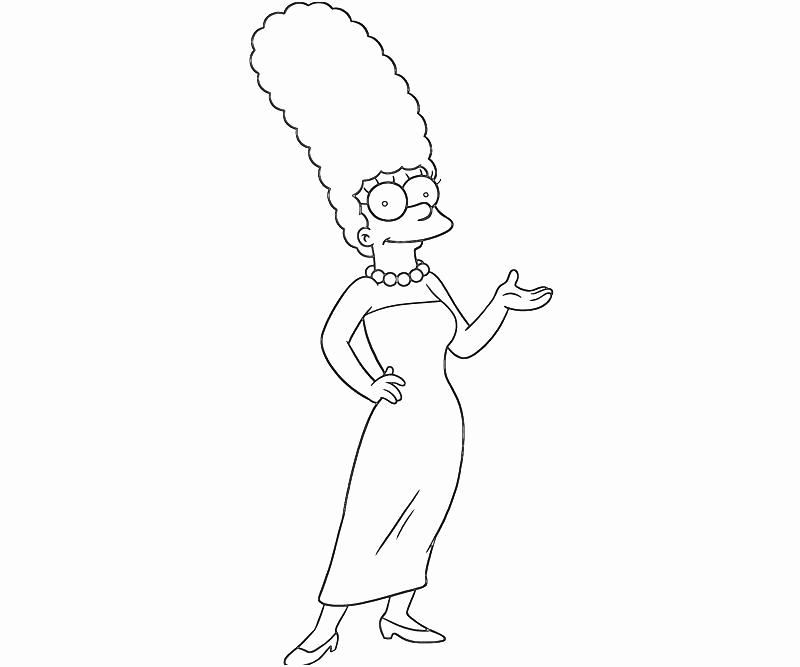 800x667 Cool Bart Simpson From The Simpsons Coloring Page The Simpsons