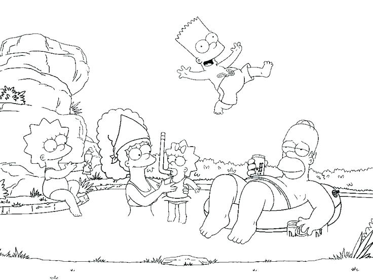 736x552 Bart Simpson Coloring Pages Luxury Coloring Pages New Best Images