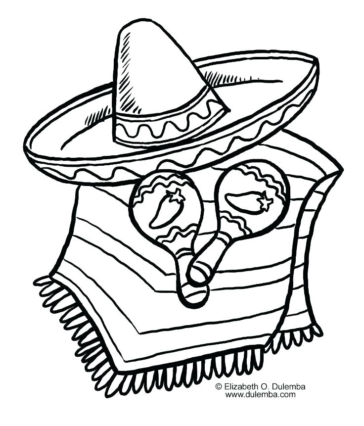 736x861 Maracas Coloring Pages Mariachi Baby Boy Playing The Maracas