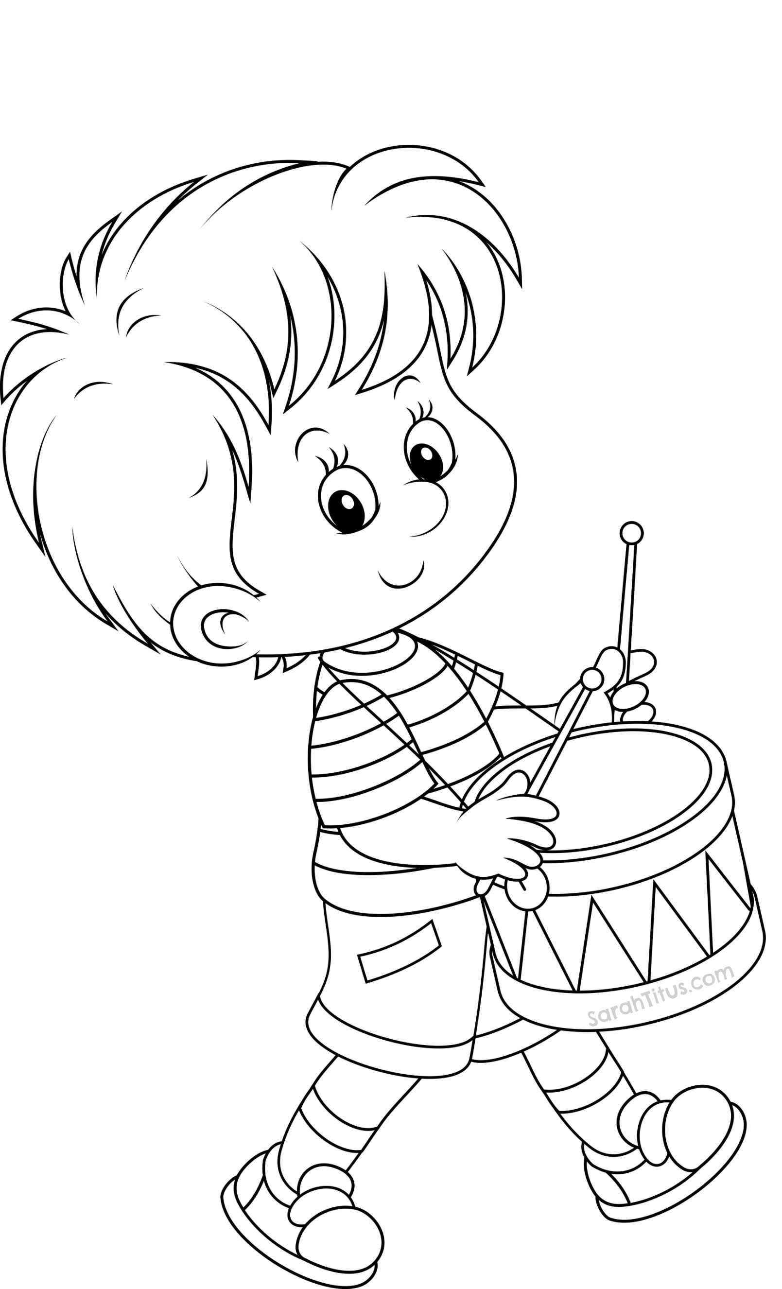 1609x2652 Mariachi Baby Boy Playing The Maracas Coloring Page Royalty Free