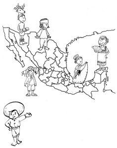 236x300 Mariachi Coloring Page Hispanic Heritage Month, Hispanic