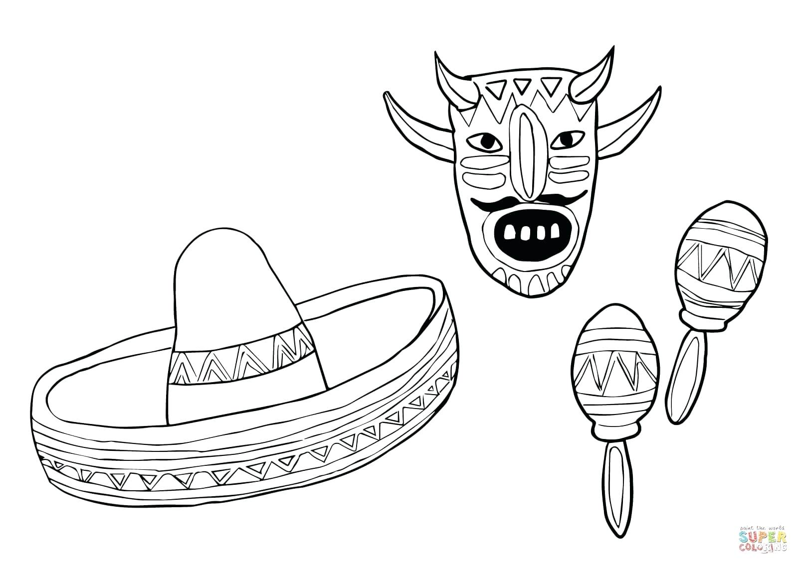 1600x1132 Coloring Pages Thanksgiving Dinner Mariachi Band Skeleton Playing