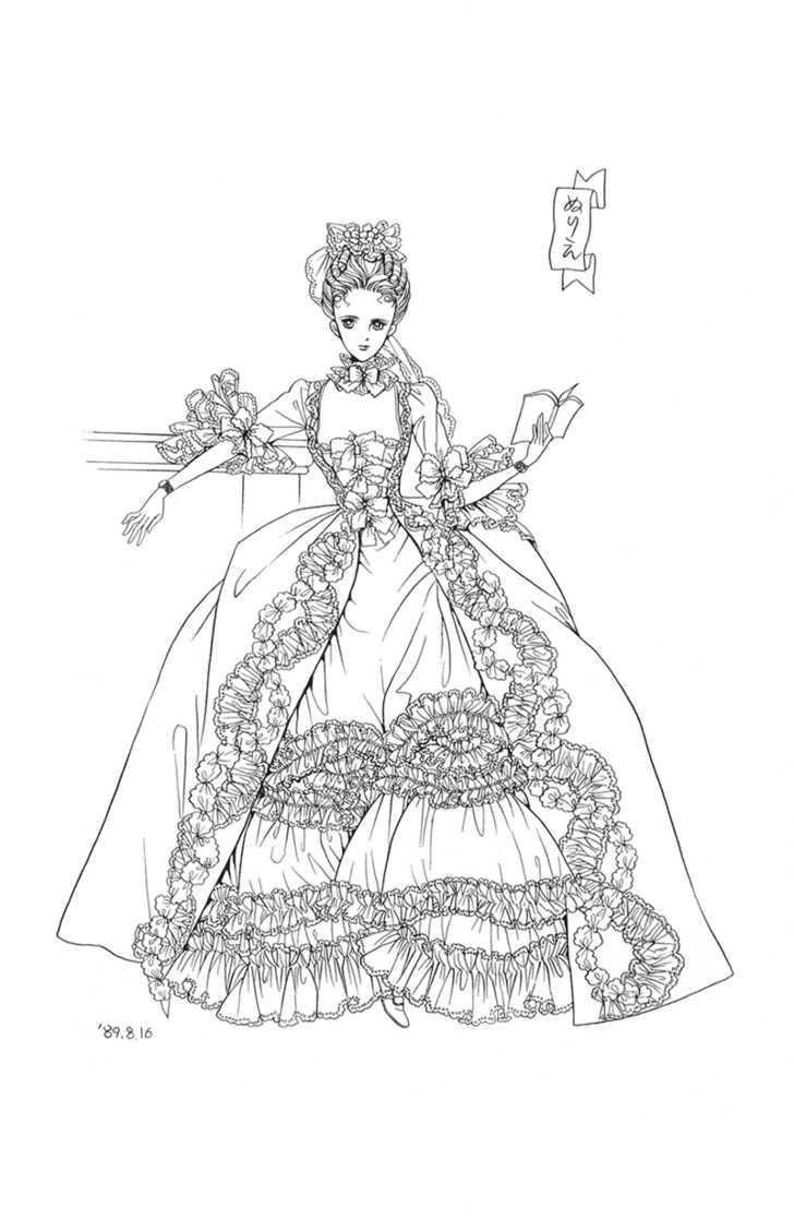 728x1128 Marie Antoinette Sketch