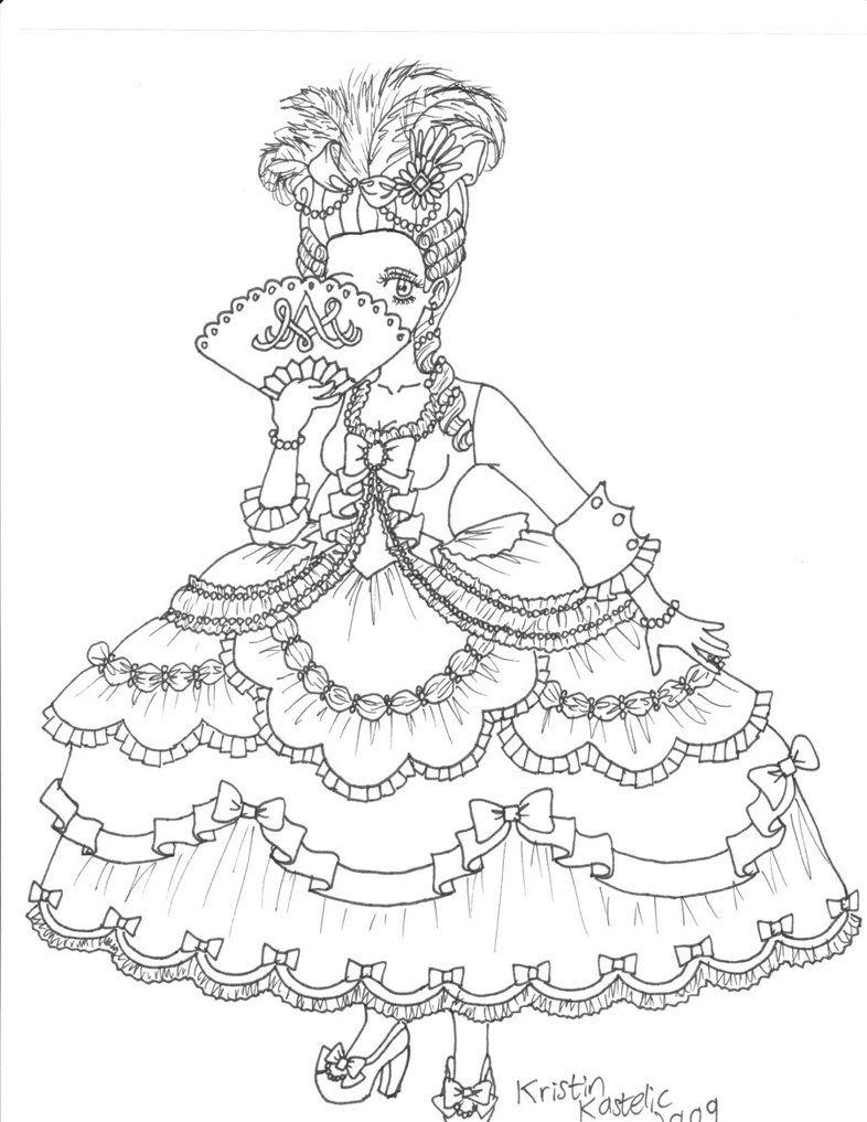 786x1017 Sharpie Marie Antoinette Drawings Marie Antoinette