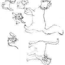 220x220 The Aristocats Coloring Pages