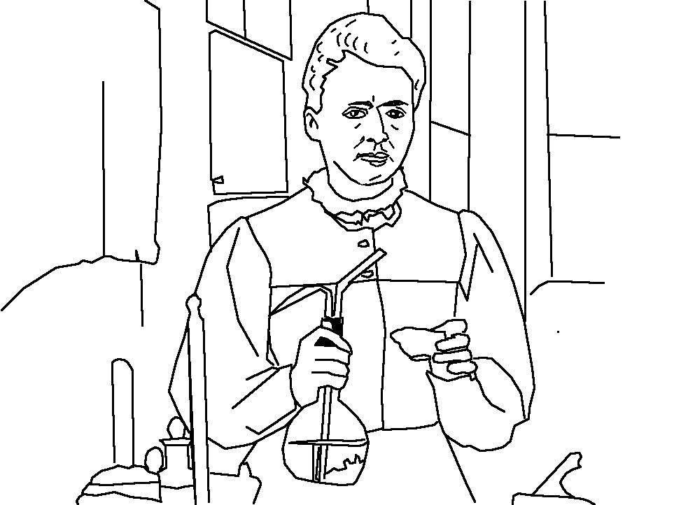993x722 Marie Curie Coloring Page Marie Curie Coloring Page Free Printable