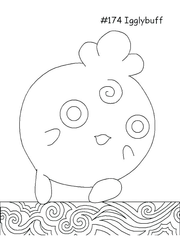 The Best Free Jigglypuff Coloring Page Images  Download