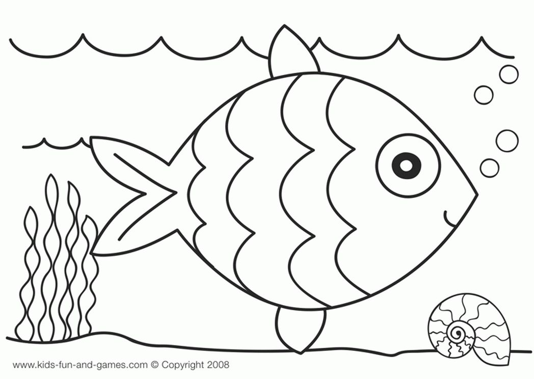 1048x744 Fancy Ocean Animals Coloring Pages For Characters Coloring