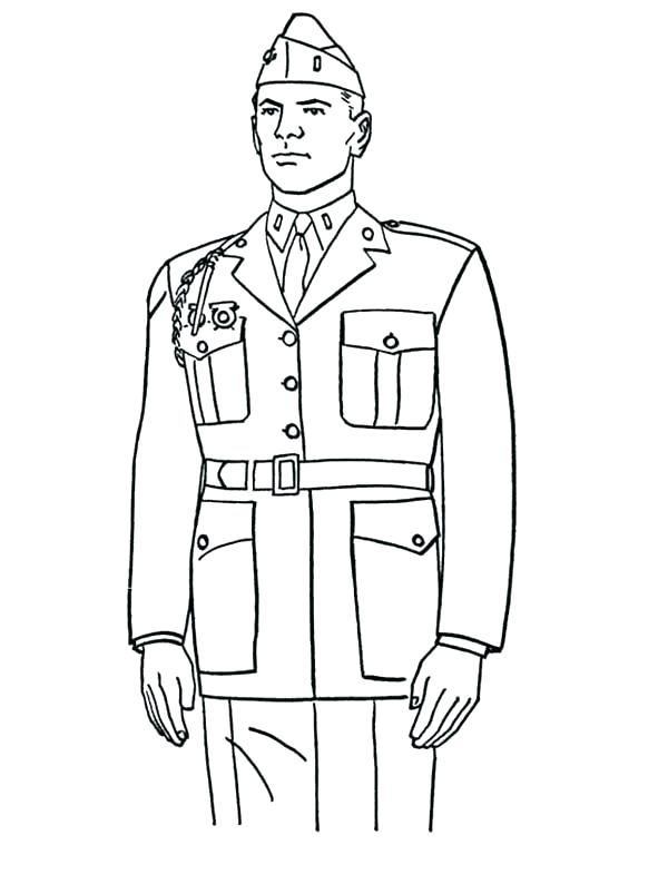 600x794 Marine Corps Coloring Pages Marine Coloring Page A Steady Marine
