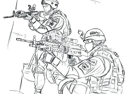 440x330 Marine Corps Coloring Pages Military Coloring Pages Printable