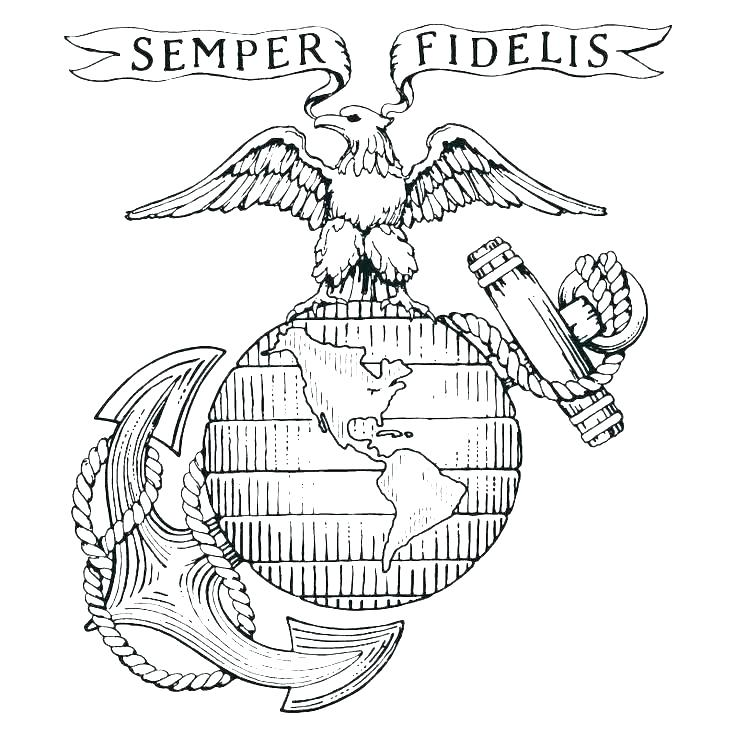 736x736 Military Coloring Pages