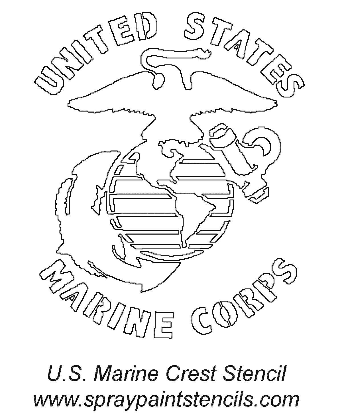 1200x1456 Coloring Pages For Usmc Marine Page Allegiancewars Com