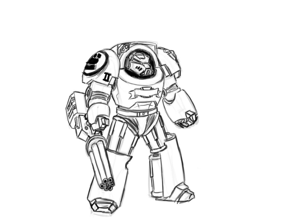 1024x768 Marine Coloring Page Free Download