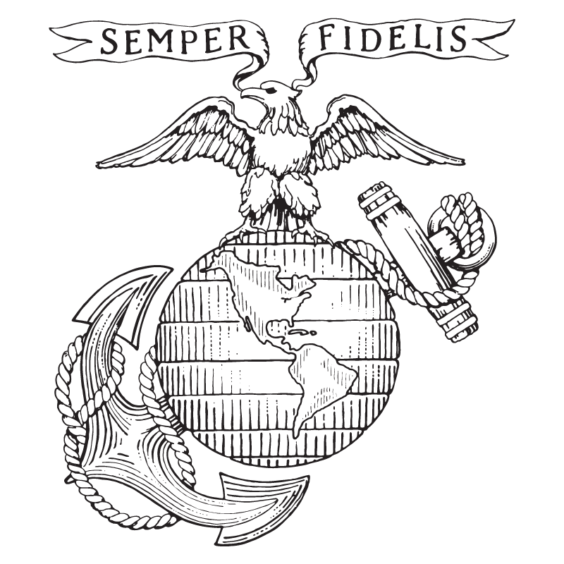 800x800 Marine Corps Coloring Pages Usmc Coloring Pages