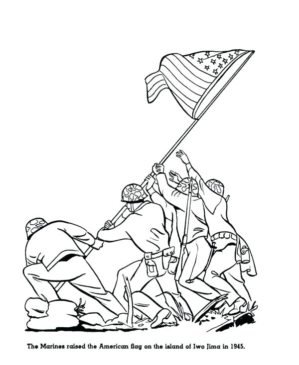 600x734 Marine Corps Coloring Pages Marine Corps Coloring Pages Printable