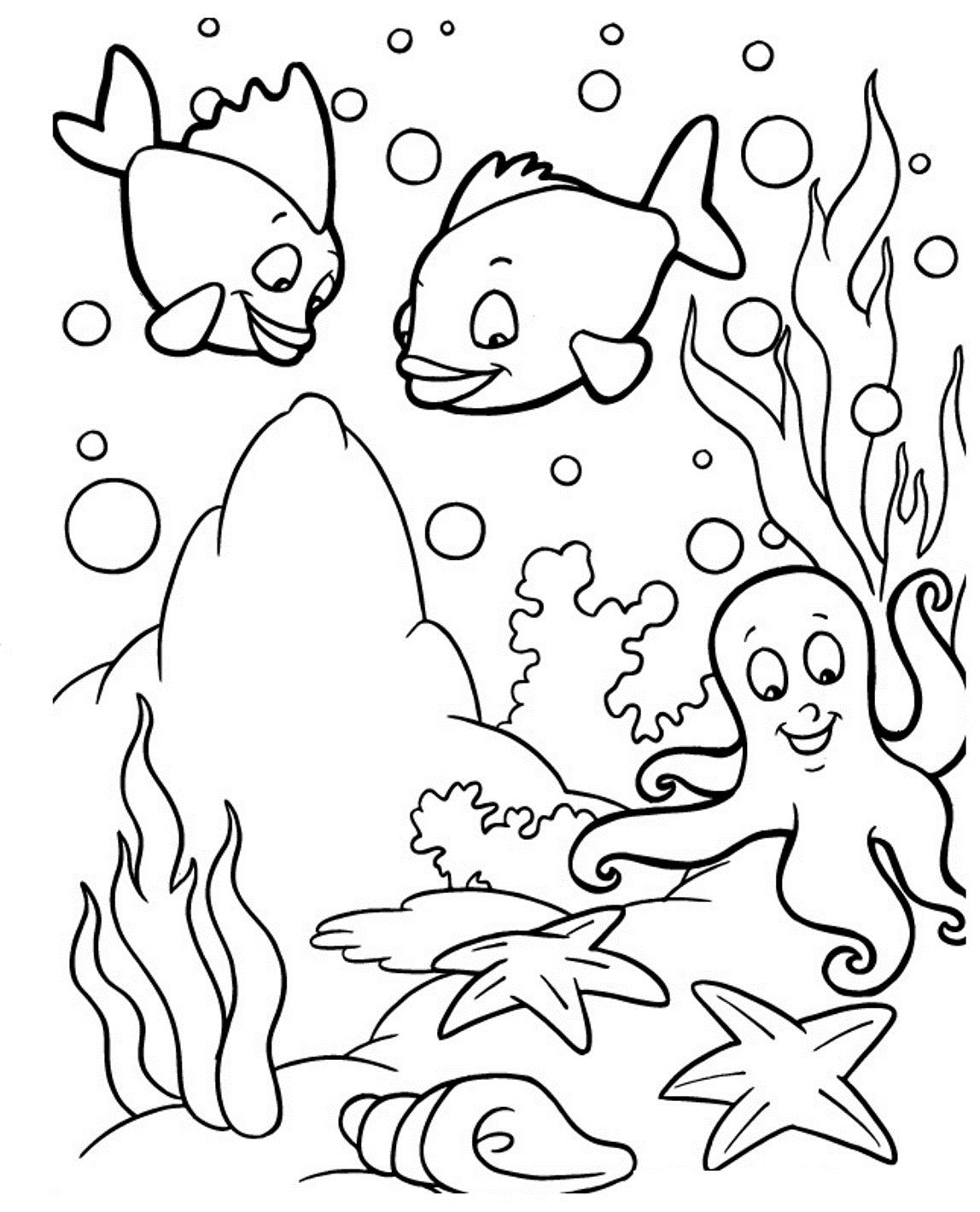 1148x1420 Monumental Sea Life Coloring Pages Animals Page More Images