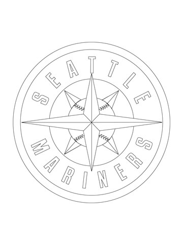 360x480 Seattle Mariners Coloring Pages