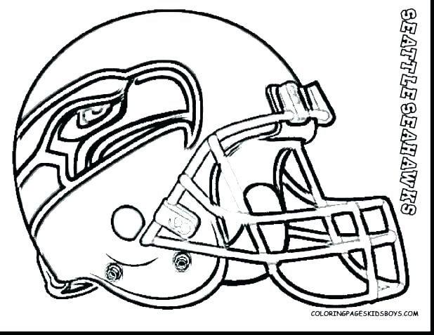 618x477 Seattle Seahawks Coloring Page