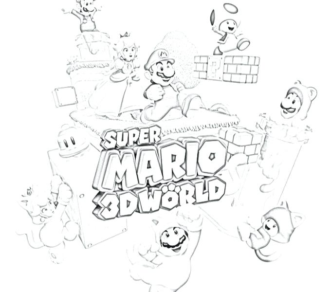 678x600 Mario World Coloring Pages World Coloring Pages Coloring Pages