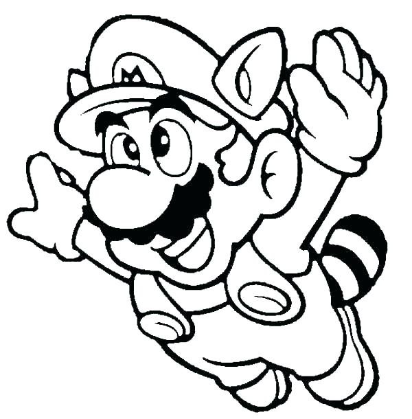 600x610 Super Mario World Coloring Pages Super World Coloring Pages