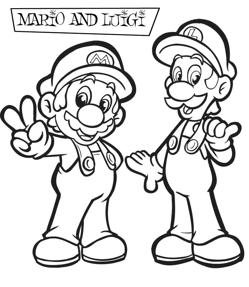 793x915 Super Mario Printable Coloring Pages And Coloring Pages Super