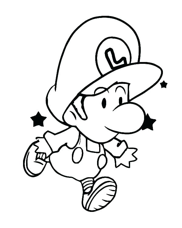 600x750 Mario And Luigi Coloring Pages Coloring Pages Super Paper Coloring
