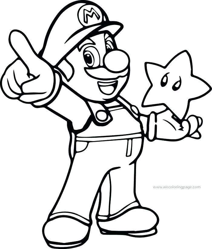 700x819 Mario Luigi Coloring Pages