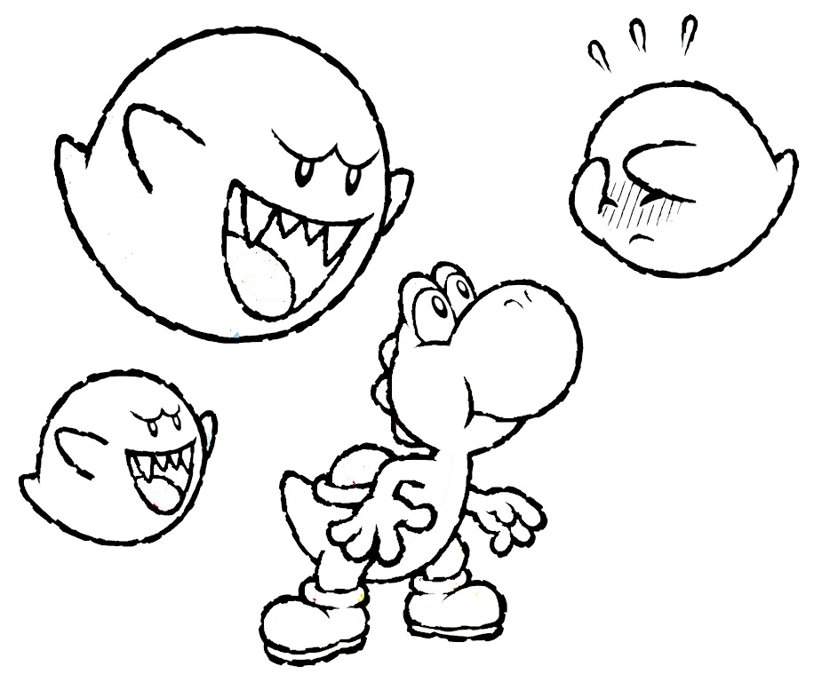 916x768 Mario And Luigi And Yoshi Coloring Pages Coloring Pages Yoshi