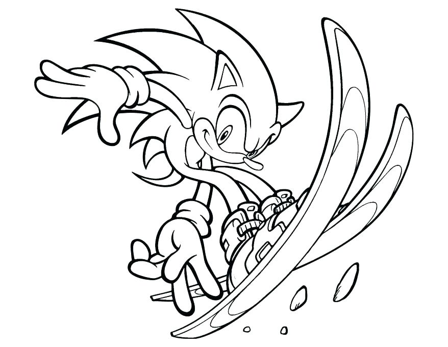 Mario And Sonic Coloring Pages at GetDrawings.com   Free for ...
