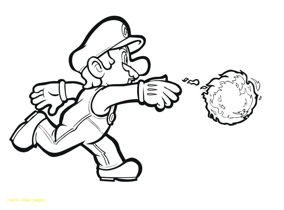 Mario And Yoshi Coloring Pages