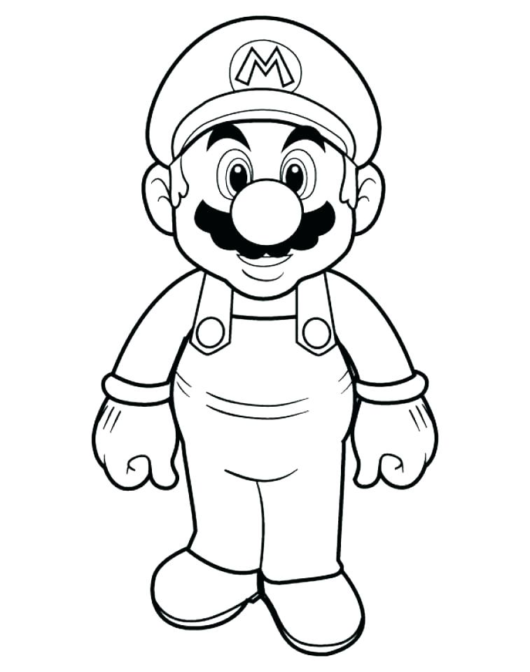 757x960 Mario Brothers Coloring Page Super Brothers Coloring Pages Super