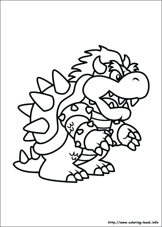 567x794 Mario Bros Coloring Pages