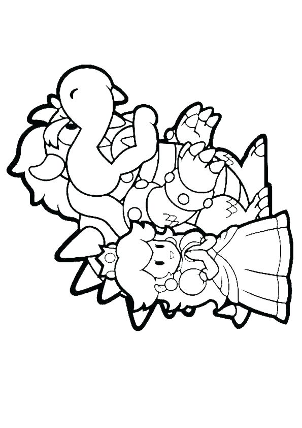 595x842 Mario Cart Coloring Pages Kart Printable Coloring Pages Kart