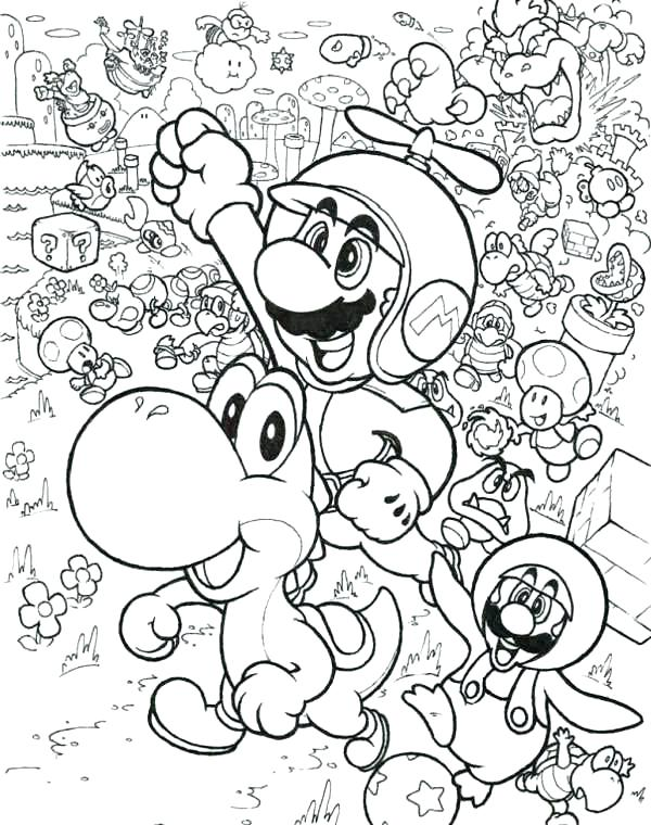 600x760 Mario Coloring Pages Free Classy Inspiration Printable Coloring