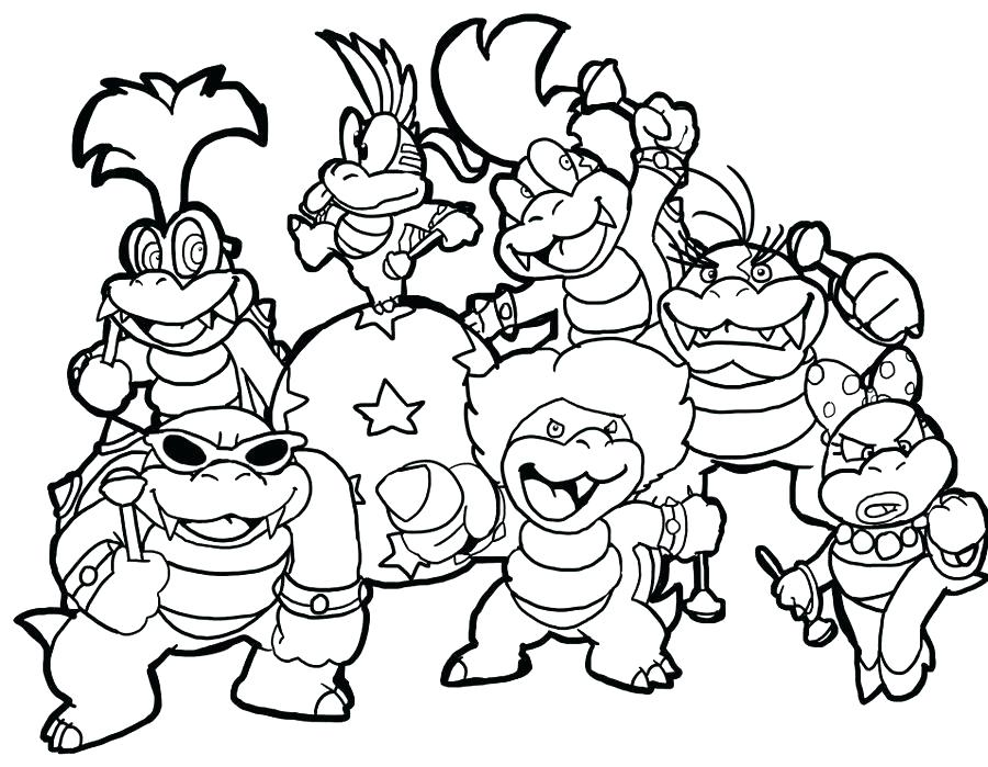 900x699 Mario Printable Coloring Pages Coloring Pages Free Super Bros