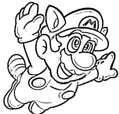 482x464 Coloring Pages Coloring Pages Super Mario Bros Free Coloring
