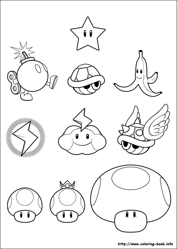 567x794 Super Mario Bros Coloring Pages On Coloring