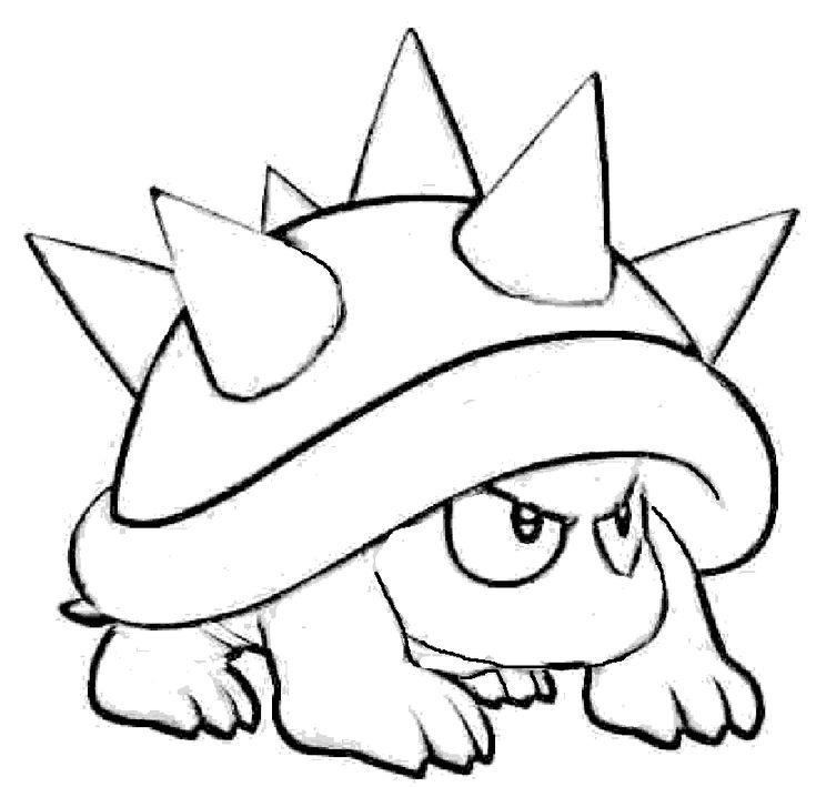 Mario Bros Yoshi Coloring Pages