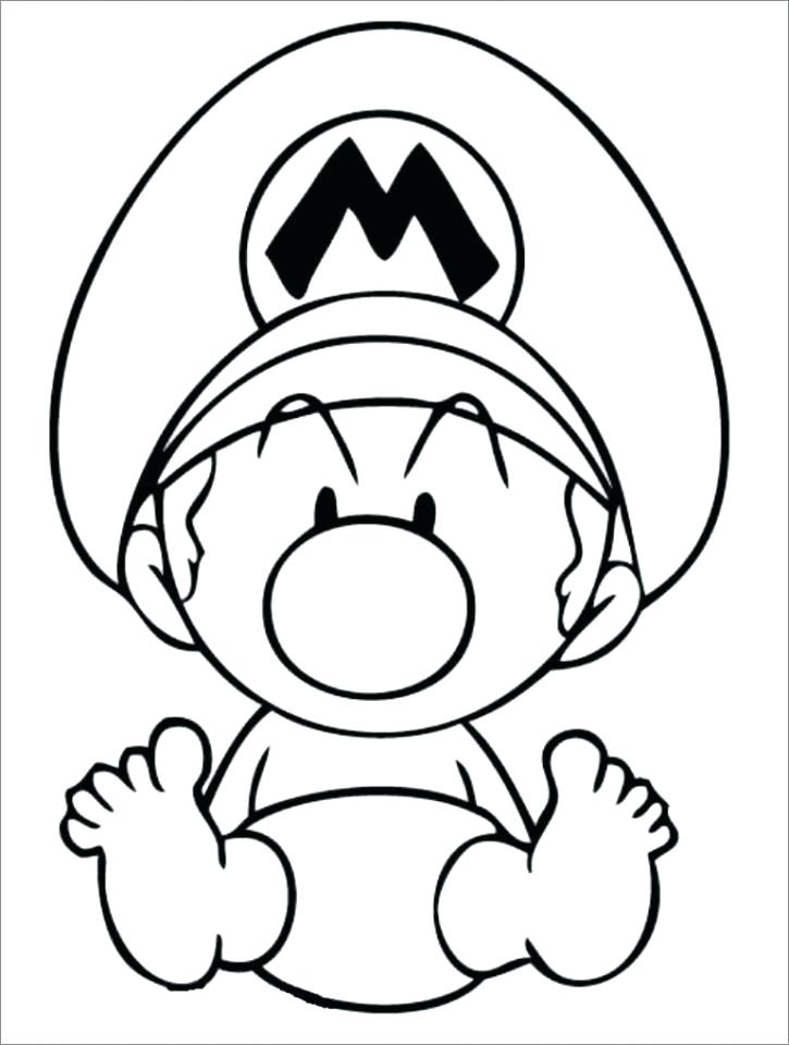725x960 Mario Bro Coloring Pages Coloring Pages Coloring Books