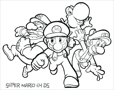 400x314 Mario Bros Coloring Page Bro Coloring Pages Coloring Pages Super