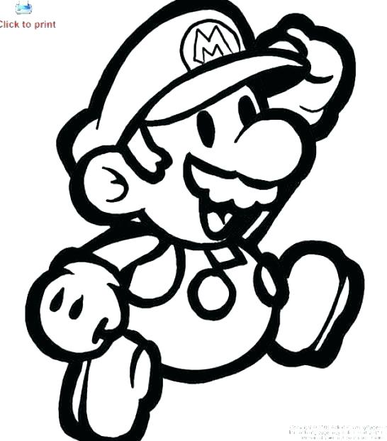 546x622 Mario Bros Coloring Pages Bros Coloring Pages For Super Brothers