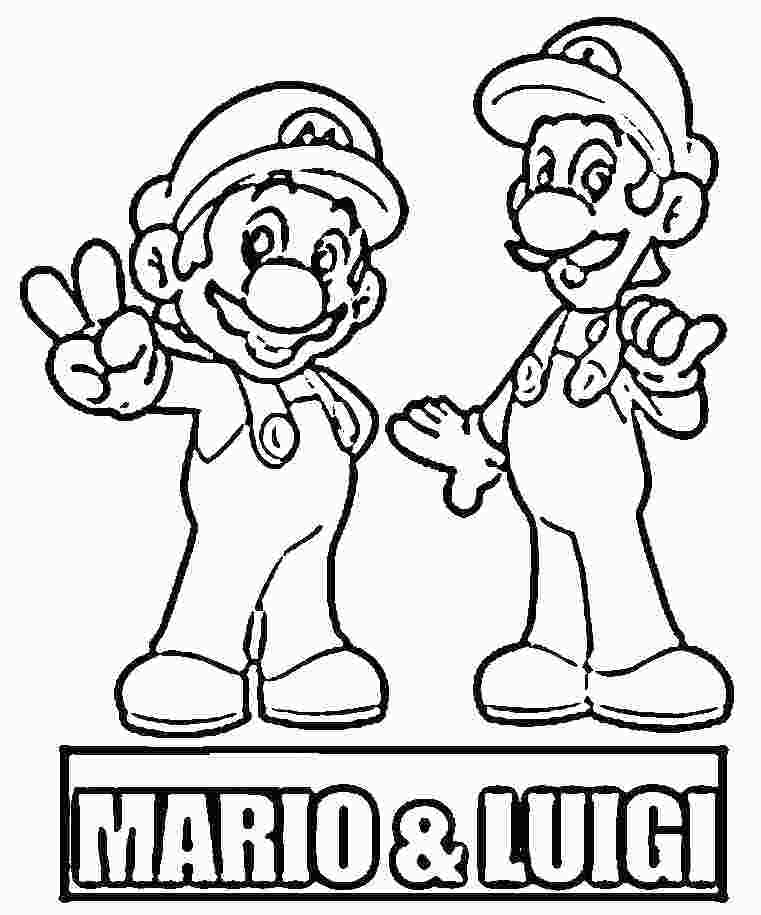 761x915 Mario Brothers Coloring Page Coloring Pages Of Super Super Bros