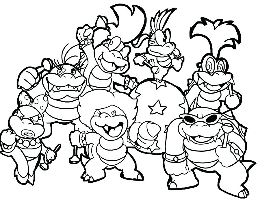 900x699 Mario Coloring Pages Online Coloring Pages Super Brothers Holding