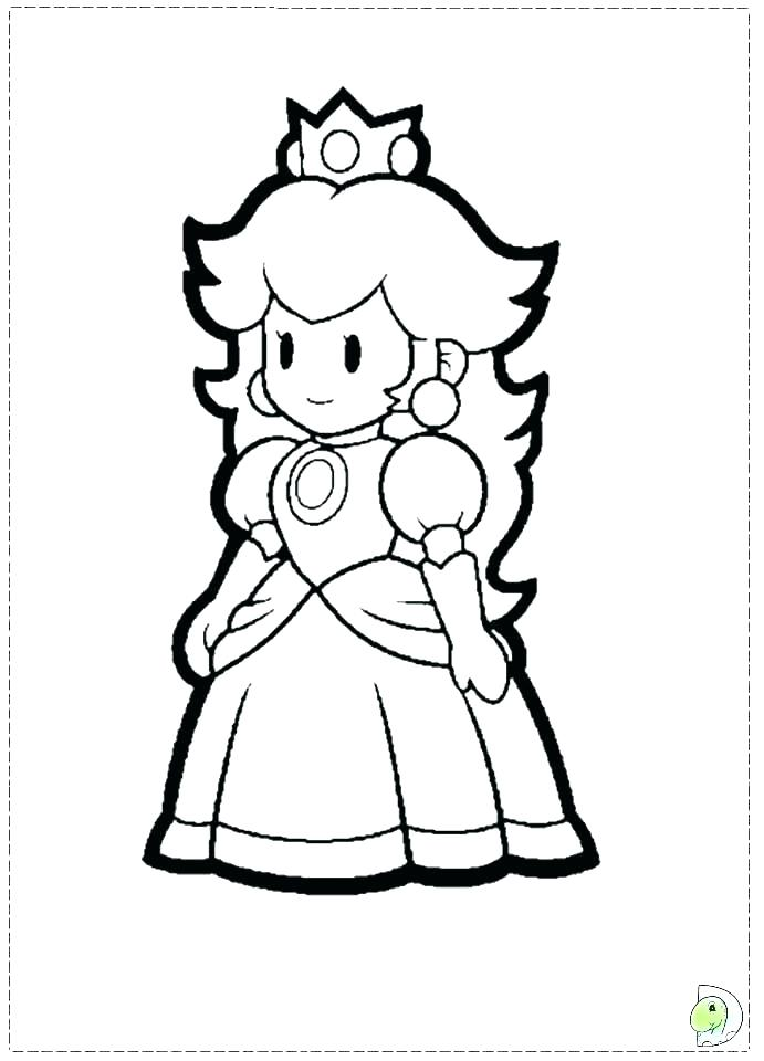 691x960 Super Mario Bros Coloring Pages Super Coloring Books As Well As