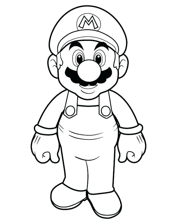600x760 Super Mario Brothers Coloring Pages Unique Super Odyssey Coloring